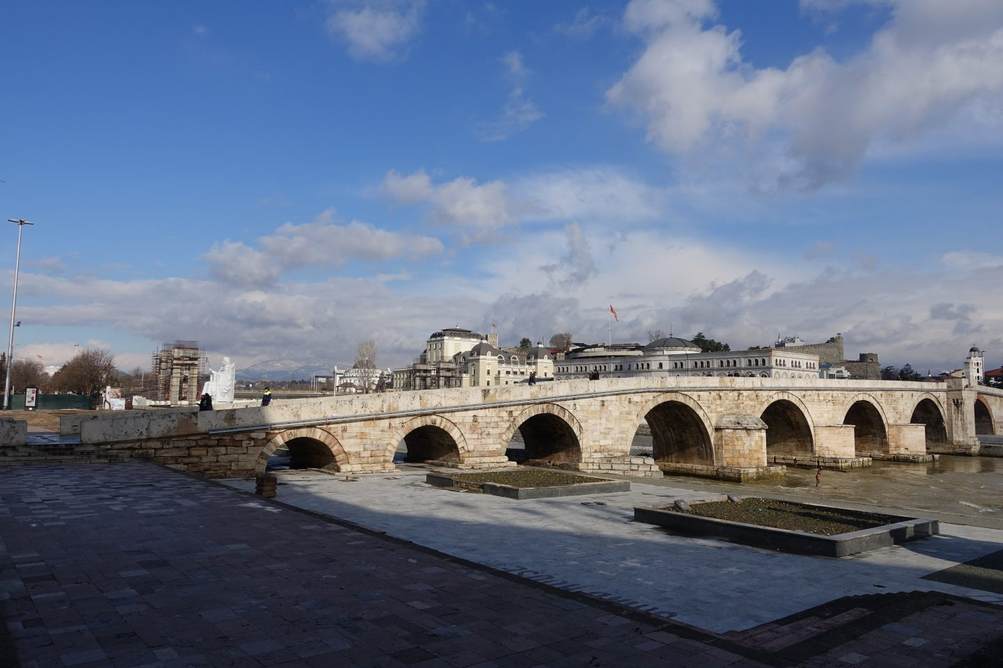 stone bridge skopje