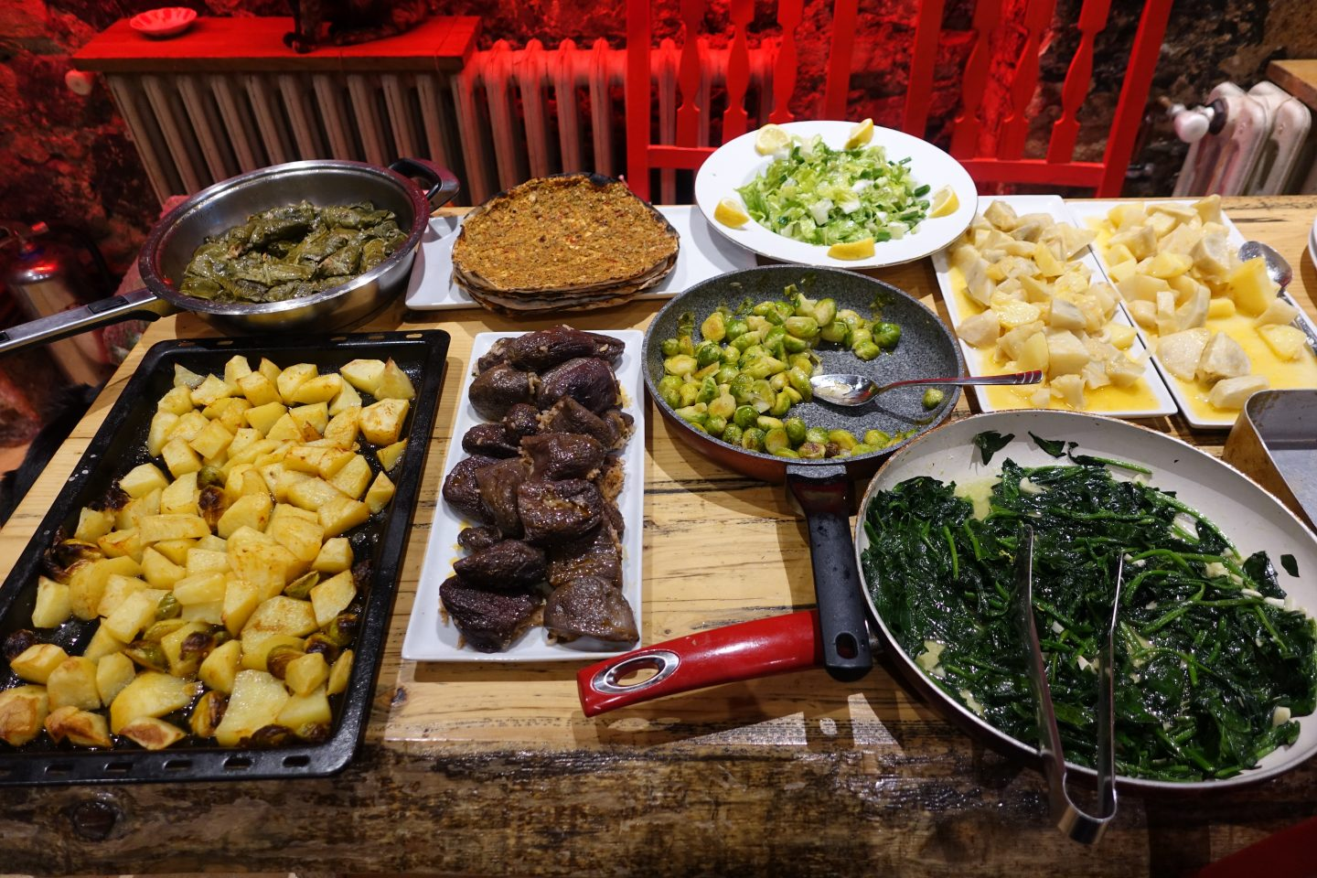 Vegan food at community kitchen Things to do in Istanbul