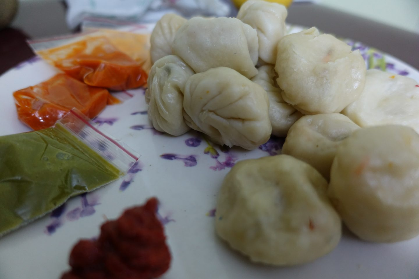 Vegetable Momos Vegan Food Bangalore