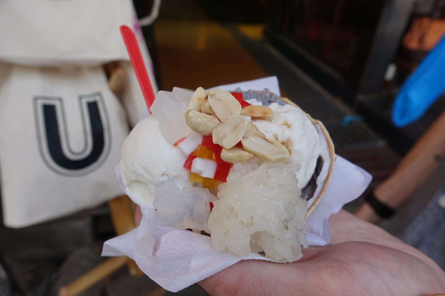 coconut ice cream Chatuchak Market