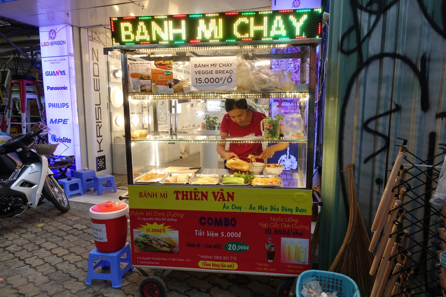 Vegan Banh Mi at Banh Mi Thien Van