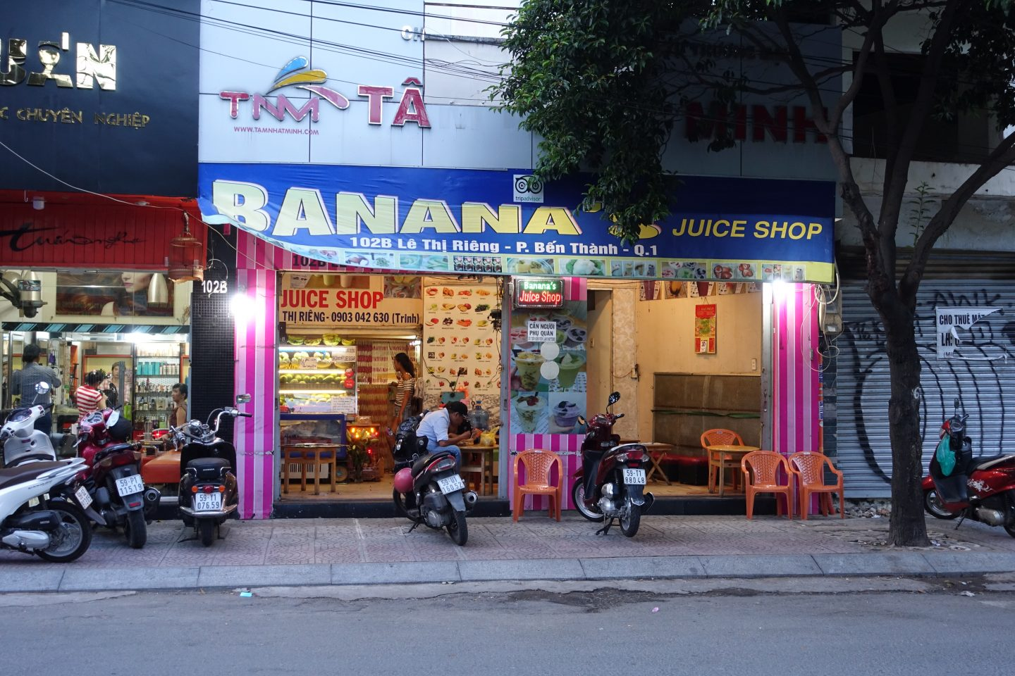 banana's juice shop
