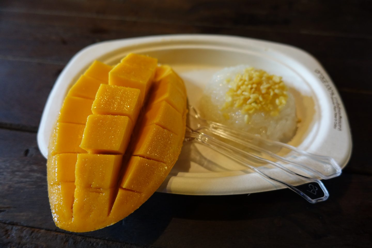 coffee country ko kret mango with sticky rice