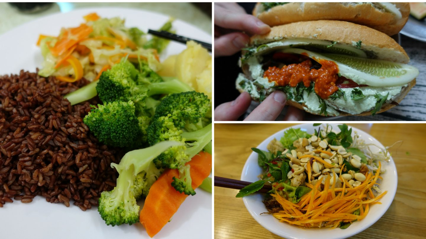 Affordable vegan food in Hanoi