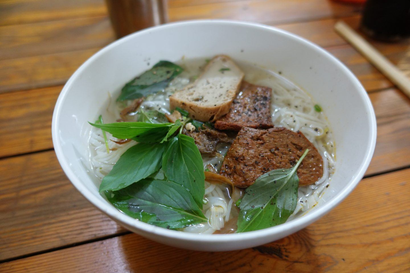Chan Nhu II Vegan Pho with Mushrooms