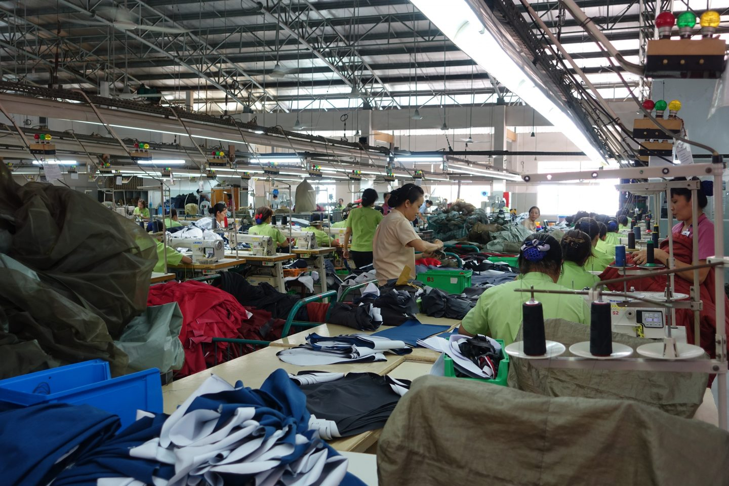 tatonka open factory tour sewing