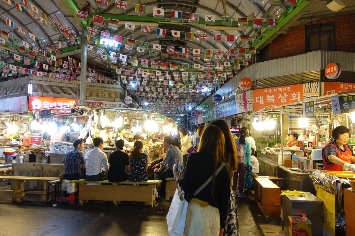 10 Things To Do in Seoul - Kwangjang Market