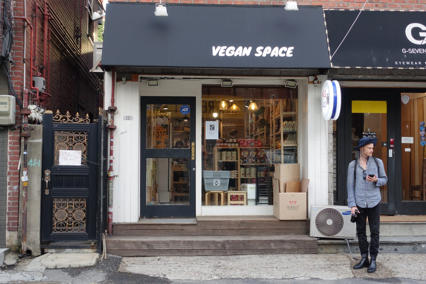 Fantastic vegan food in Seoul - Veganspace
