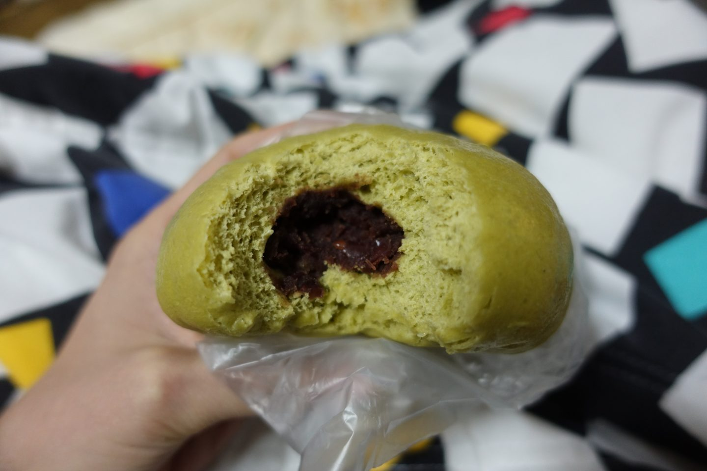 Liu-Jin Vegetarian Buns - Red Bean
