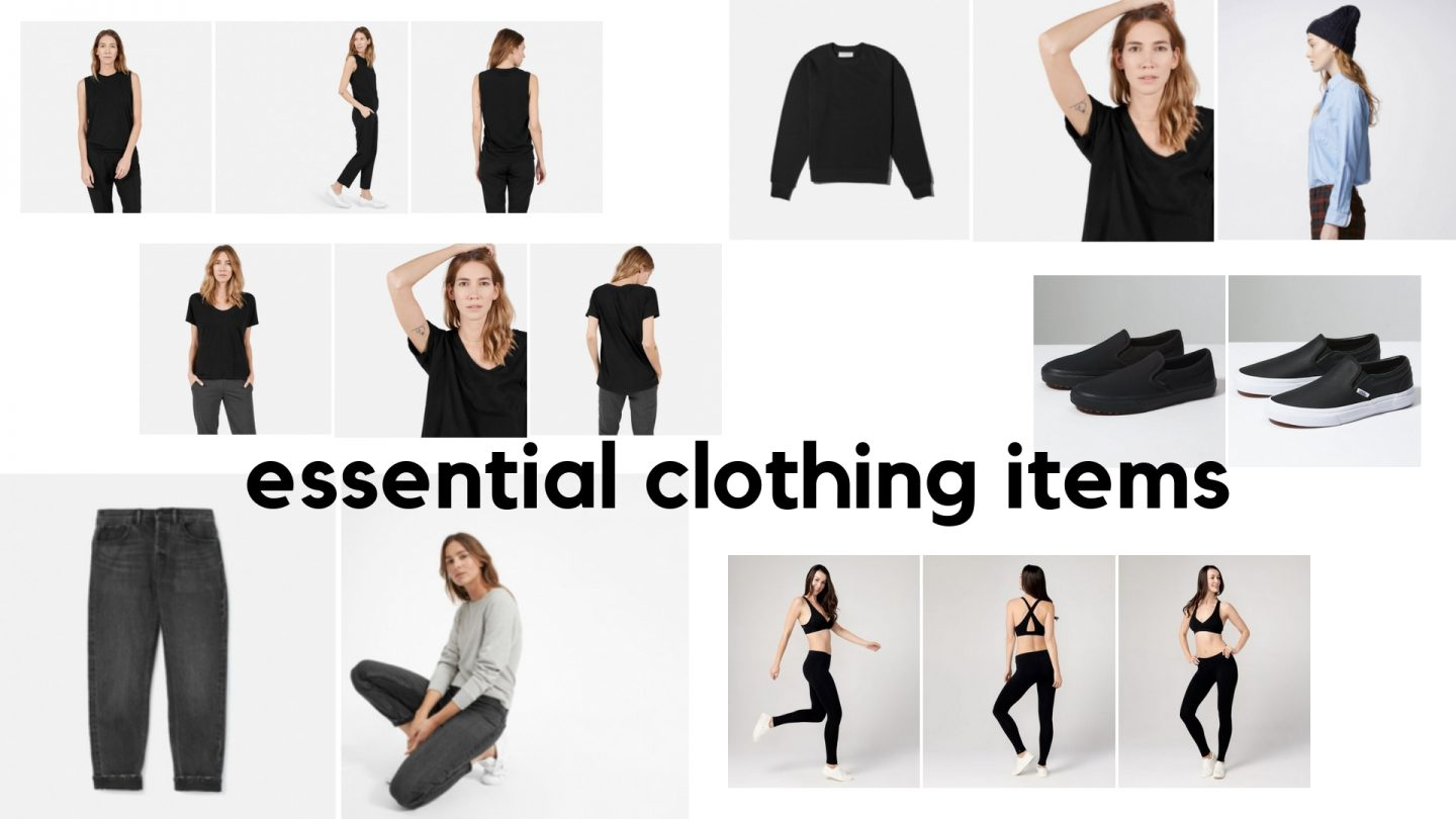 Essential Clothing Items